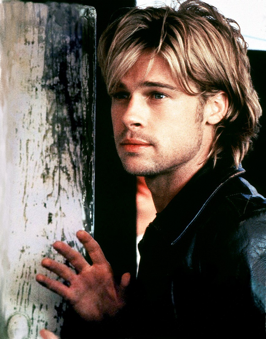 Brad Pitt Hairstyles Collections