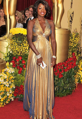 Actress Viola Davis arrives at the 81st Annual Academy Awards he