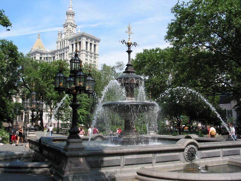 Central Park Dog Fountains