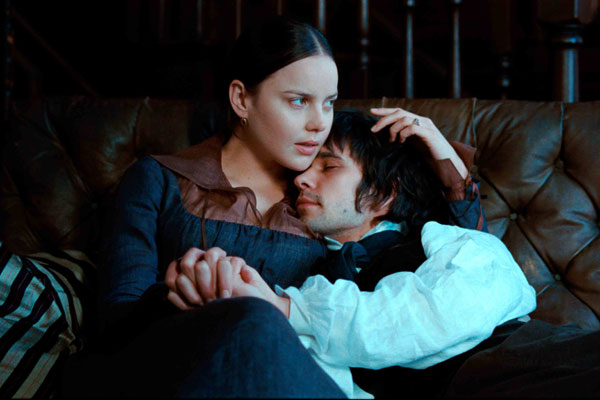 Bright Stars Fanny Brawne (Abbie Cornish) and John Keats (Ben Whishaw)