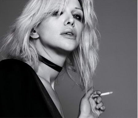 Courtney Love of Hole (photo by Hedi Slimane