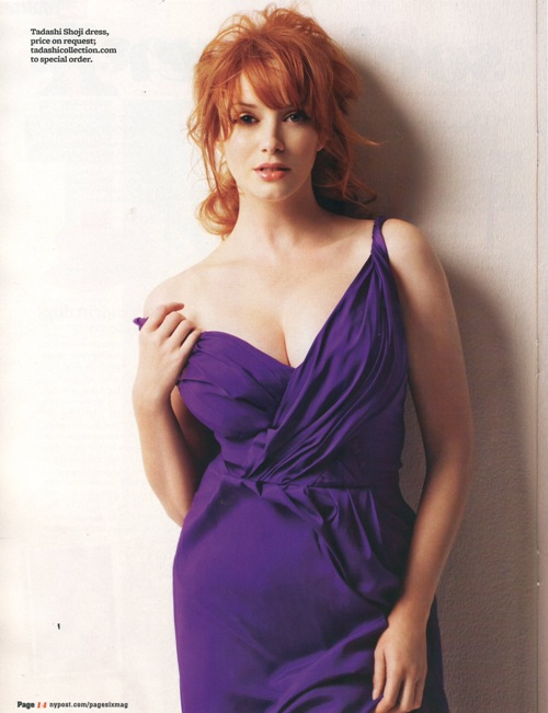 christina hendricks hot. CHRISTINA HENDRICKS ON THE