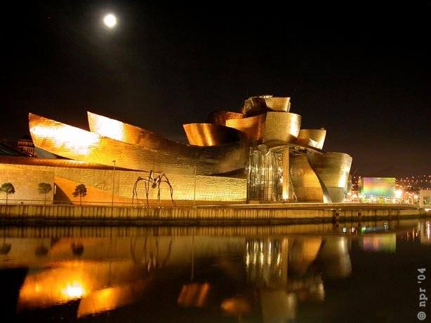 Architect frank gehry on the influence of the guggenheim - Iluminacion bilbao ...