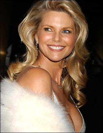 CHRISTIE BRINKLEY TO ...