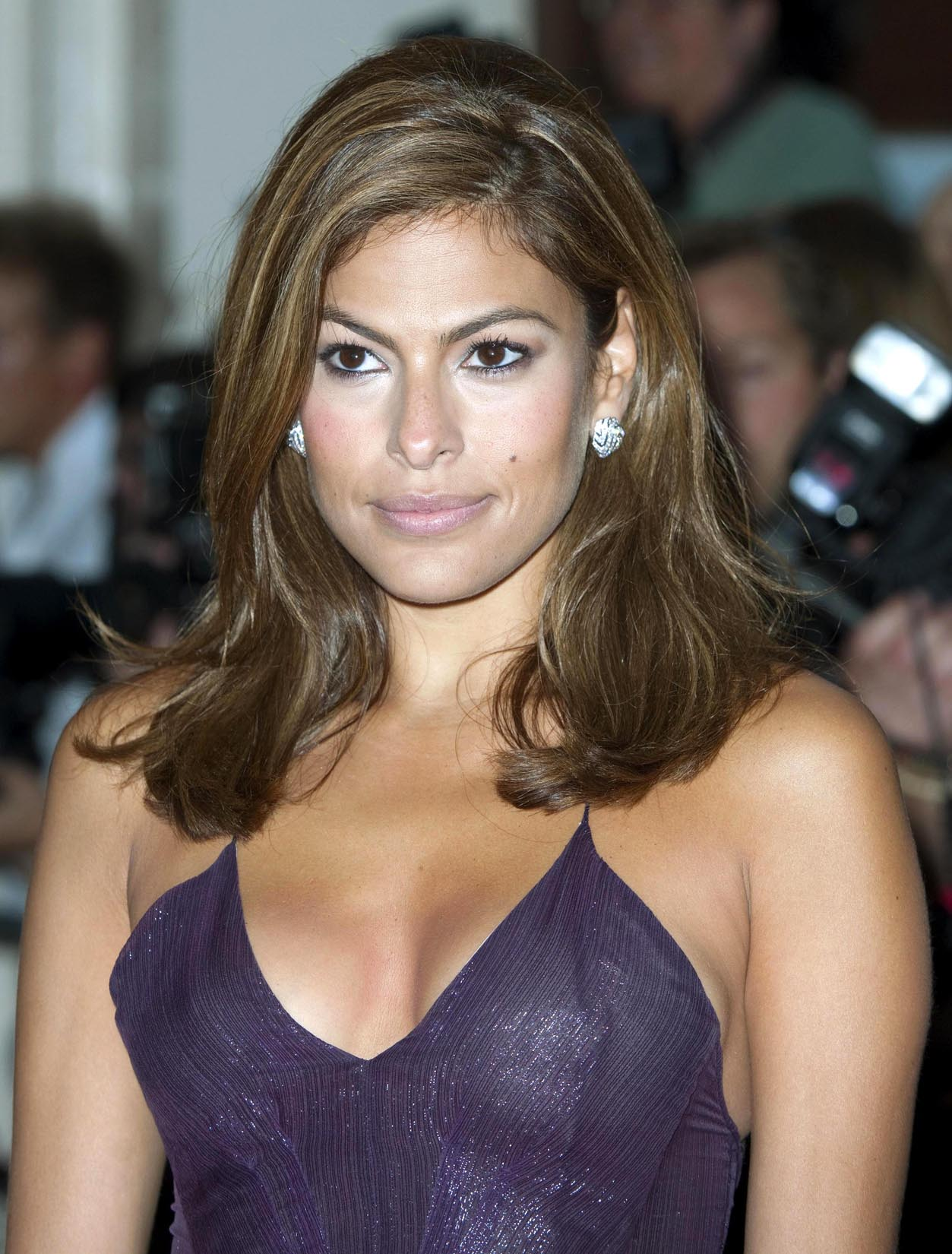 through Eva mendes see