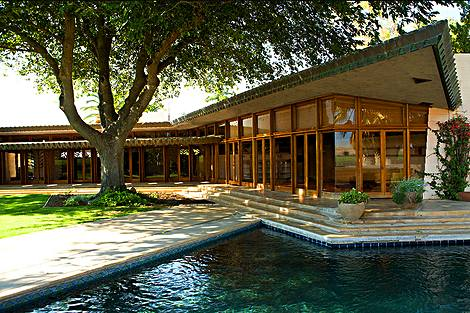 Frank lloyd wright organic architecture for the 21st for California style house plans