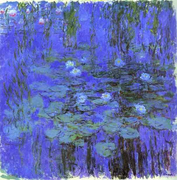 Monet Waterlily Garden Keepsake Boxed Notecards [With 16 4-1/4 X 5-1/2