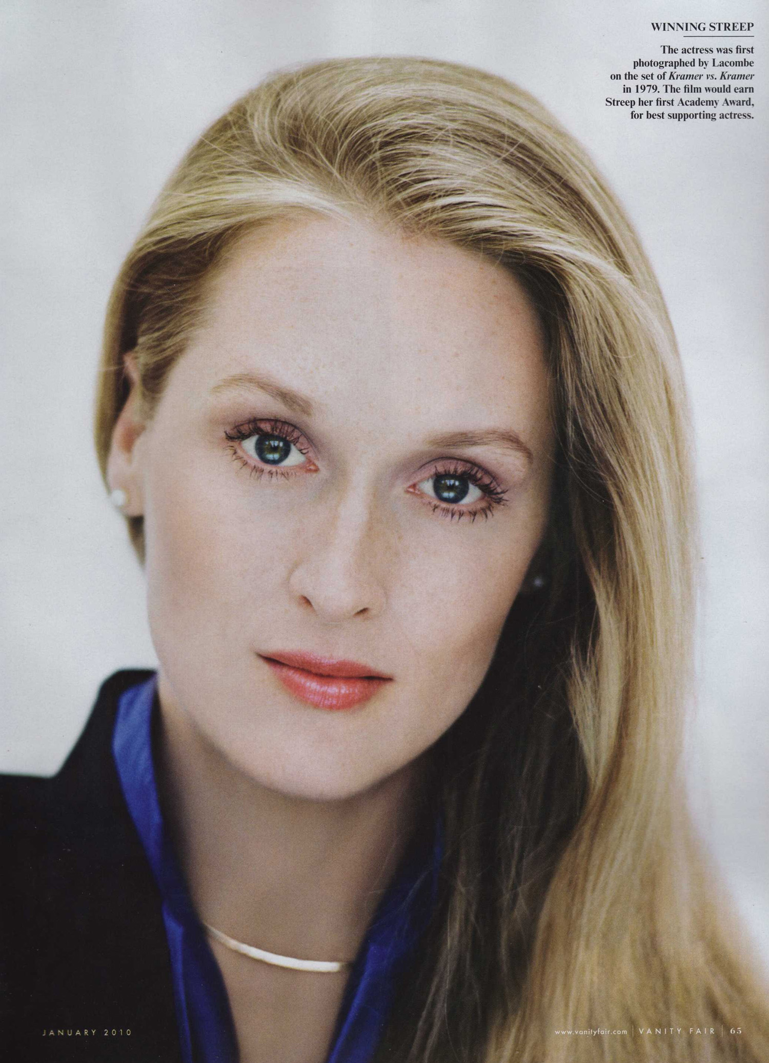 MERYL STREEP TO RECEIVE KENNEDY CENTER HONORS